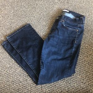 J brand straight leg pure jeans - size 27